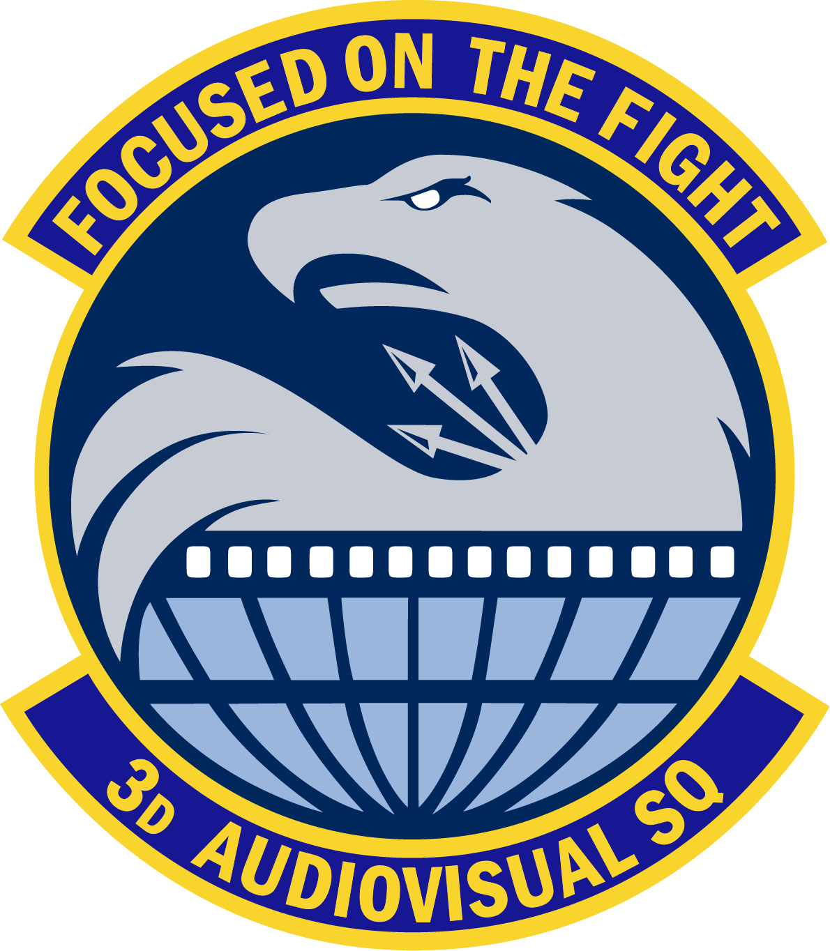 3rd Audiovisual Squadron patch